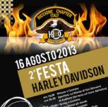 "Seconda festa ""Harley Davidson"""