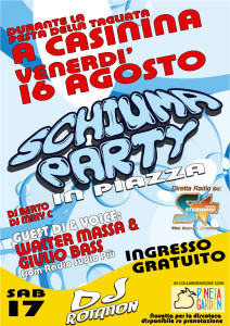 schiuma party full